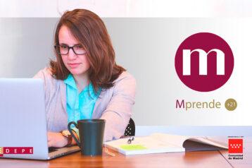 Abrimos la convocatoria 2021 de MPRENDE+21 para emprendedoras de la Comunidad de Madrid